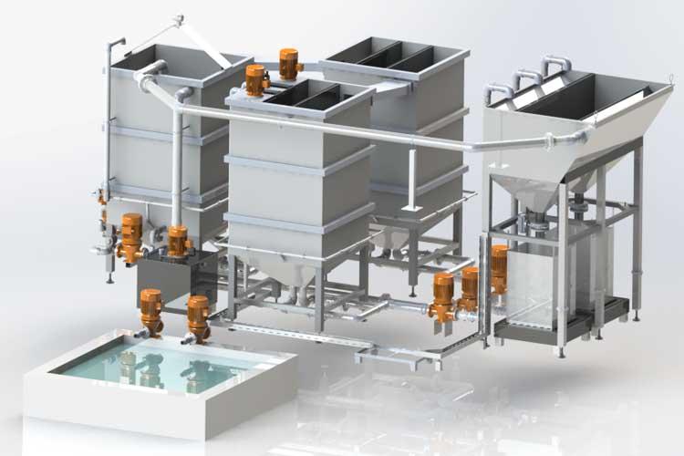 Deman Europe Bielefeld - Wasseraufbereitung