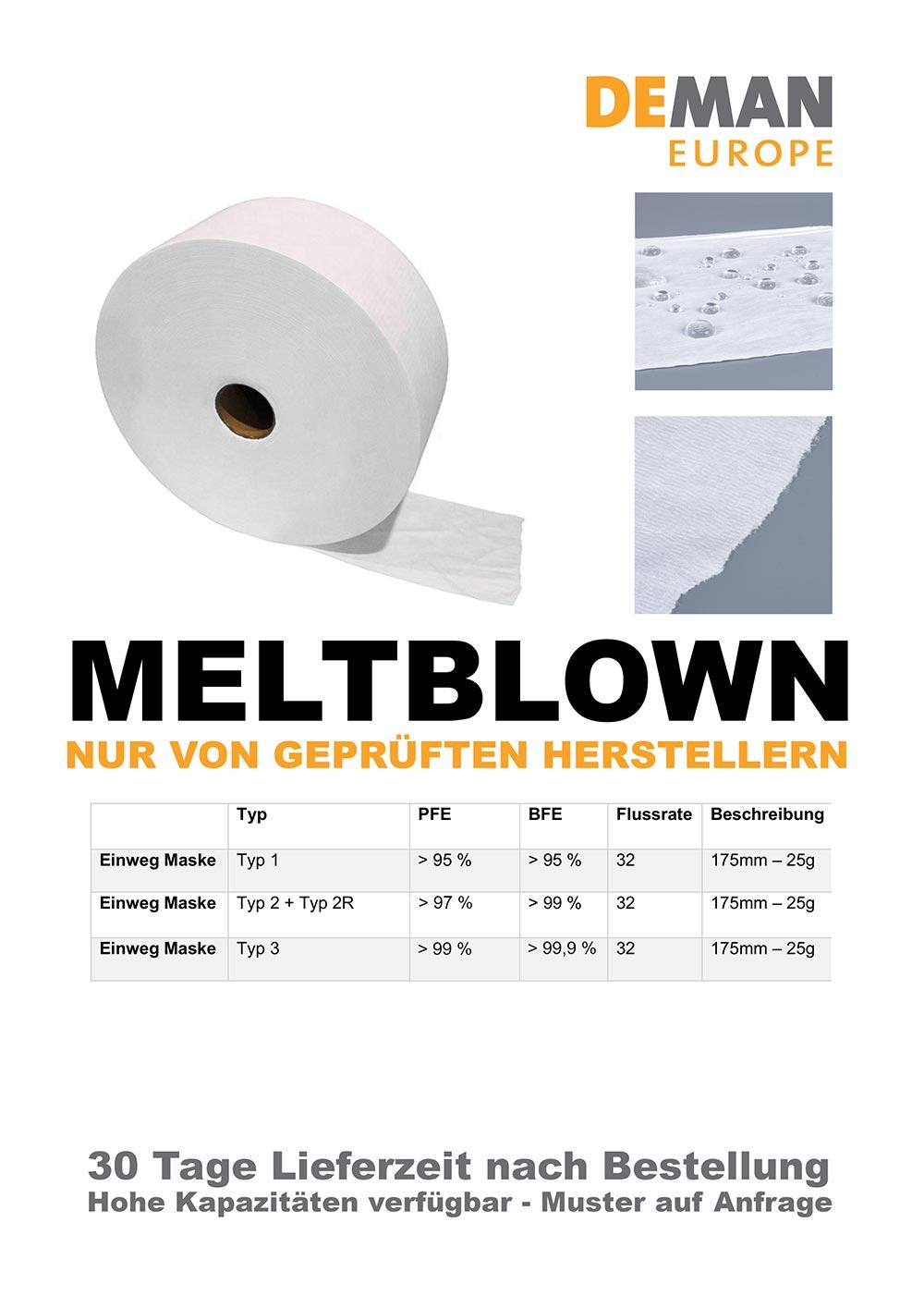 Deman Europe Bielefeld - Meltblown